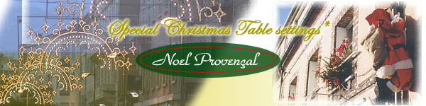 Christmas Sets and Table linens