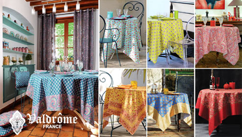 valdrome tablecloth
