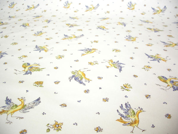 Provence Fabric (Moustiers2014. white x blue)