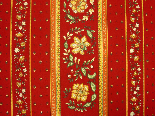 Provence Fabric (Vence. red)