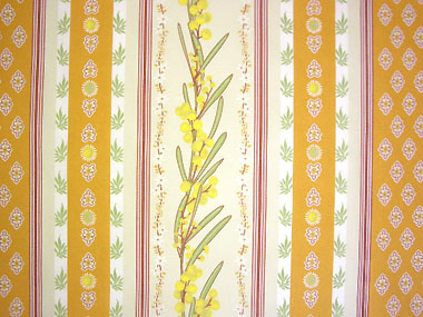 Provence Fabric (mimosa orange, striped)