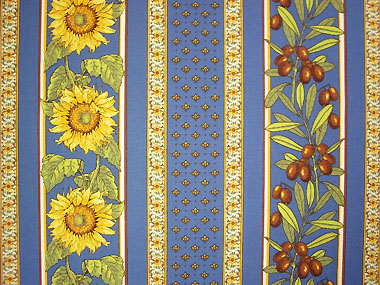 Provence Fabric Vallauris Blue Provence Decoration