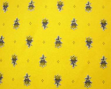 Provence Fabric (Marat d'Avignon / Avignon. yellow, all over)