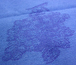 French Jacquard coated tablecloth