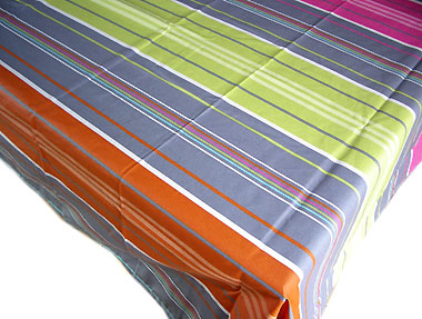 French Basque tablecloth