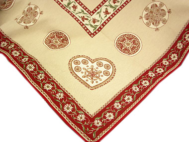 Mountain style French Jacquard table cloth