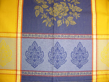 Provence rectangle Teflon coated tablecloth