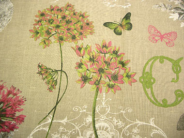 Provence linen fabric