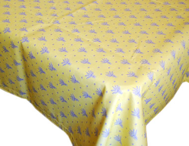 Rectangular Tablecloth Jacquard Coated