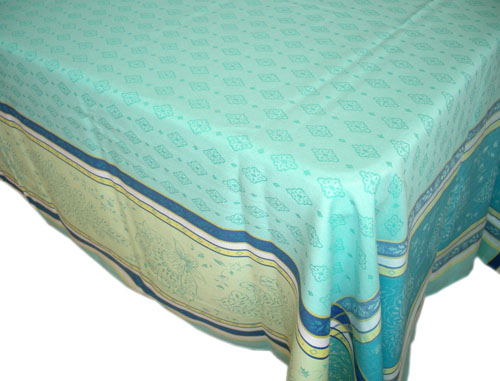 Provence rectangle Teflon coated tablecloth