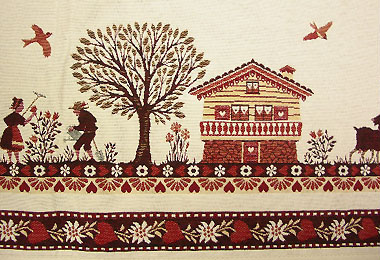 Provence top tablecloth