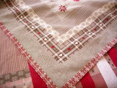 French rectangle tablecloth