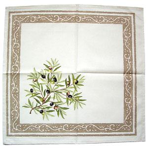 French cloth table napkin
