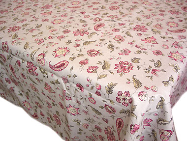 Coated tablecloth (Vence. gray)