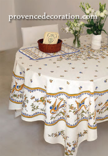Merveilleux Provence Decoration, The Provence Tablecloths And Products ...