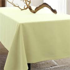 Teflon Coated Linen Tablecloth (Puccini. Sable - light beige)