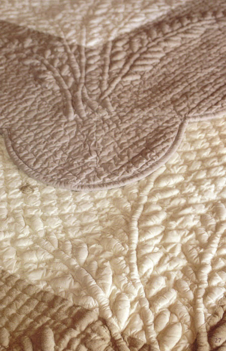 Provencal Boutis Bed Cover, Bedspread (Cabrian)