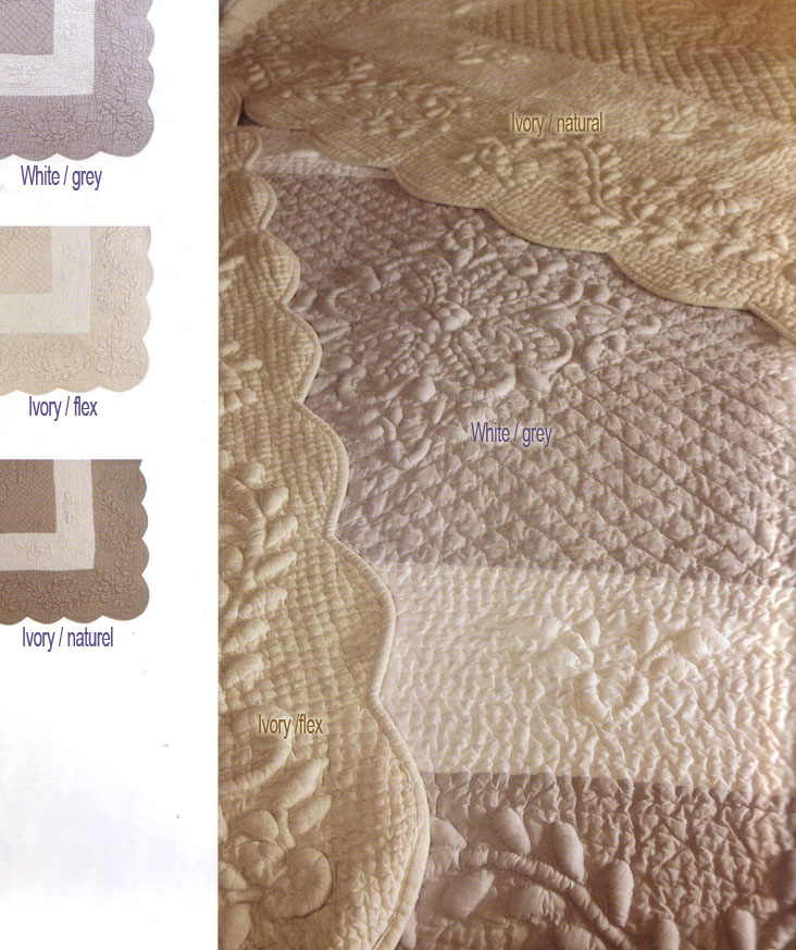 Etonnant Provencal Boutis Bed Cover, Bedspread (Sandro)