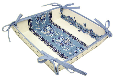 Provencal bread basket (Marat d'Avignon / tradition.white blue)
