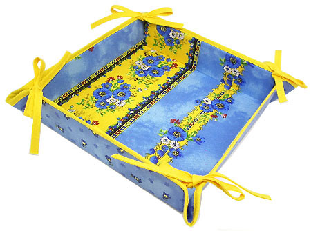 Provencal bread basket (Marat d'Avignon / tradition. blue)
