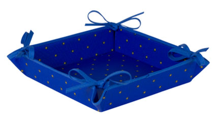 Provencal bread basket (Calissons. blue)