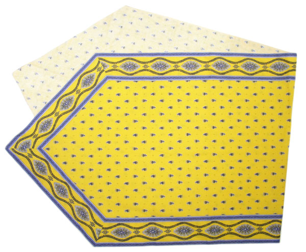 Provencal Table center - runner (Mireille_medaille. yellow)