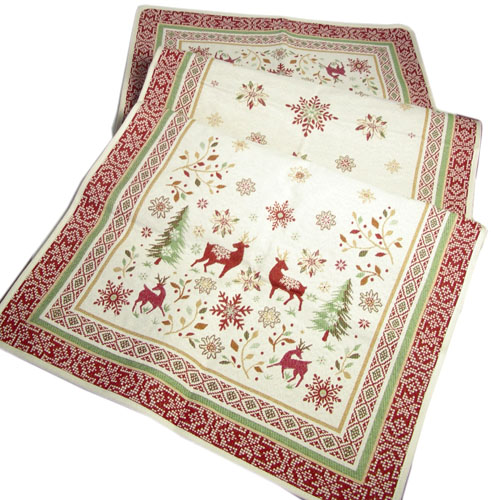 Montagne Jacquard Table runner (VALLEE. 2 colors)