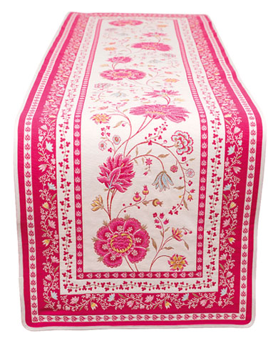Jacquard Table runner (MONTESPAN. 2 colors)