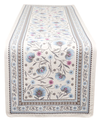 Jacquard Table runner (SILLANS. 2 colors)