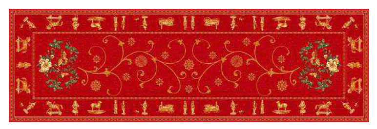 Montagne Jacquard Table runner (Noel)