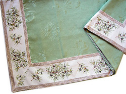 French Jacquard multi-cover (olives 2005. green)