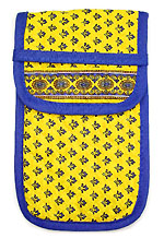French sunglasses case (Lourmarin. yellow)