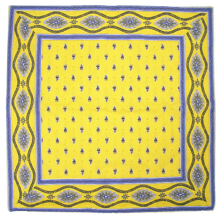cushion cover 45 x 45 cm (Mireille_medaille. yellow)