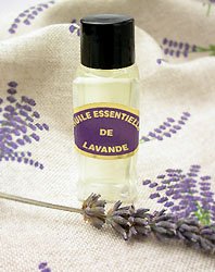 Fine Lavender essential oil from Sault's lavender fields