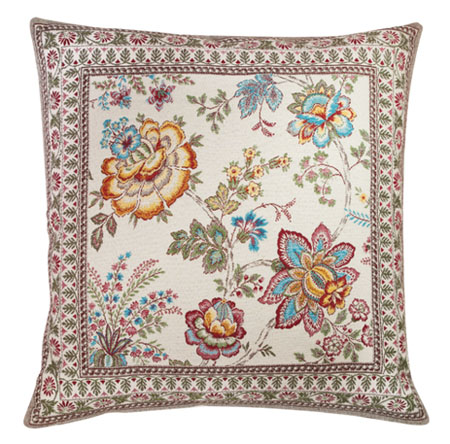 Jacquard cushion cover (GARANCE. 3 colors)