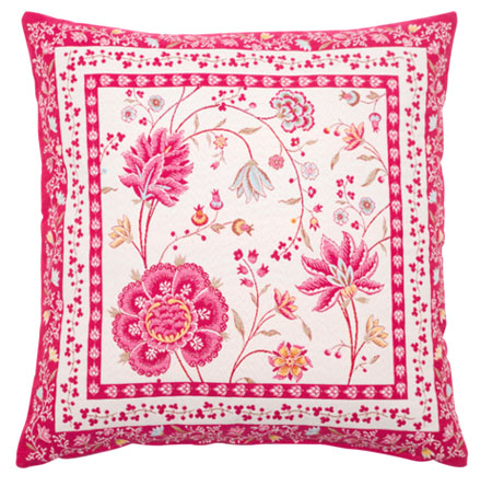 Jacquard cushion cover (MONTESPAN. 2 colors)