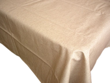 WCoated Linen Tablecloth (LINTO. natural)