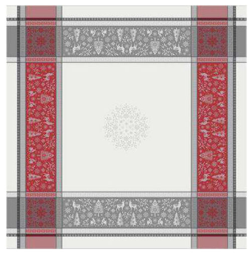 French Jacquard tablecloth, Teflon (VAR. 2 colors)