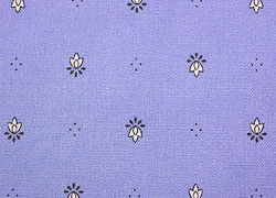 Coated tablecloth (Calissons. lavender blue)