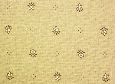 Coated tablecloth (Calissons. raw x beige)