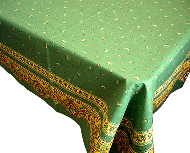 Tablecloth Bordered (Marat d'Avignon / provence.green)