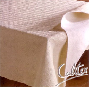 Bulgomme French Table protector, rectangle (undercloth)