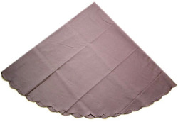 Linen & cotton french table linen (Jupon. antique lilac)