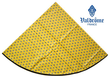 Round Tablecloth Coated (VALDROME / Picoli. yellow)