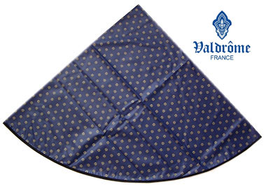Round Tablecloth Coated (VALDROME / Picoli. marine)