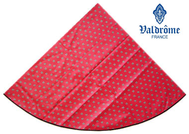 Round Tablecloth Coated (VALDROME / Picoli. corail)