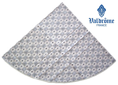 Round Tablecloth Coated (VALDROME / Batiste. natural)