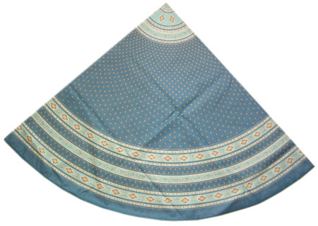 Round Tablecloth Coated (Esterel. Jade)