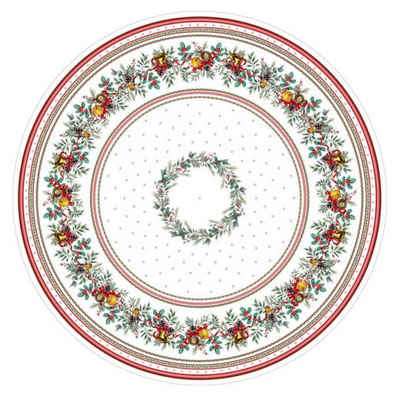 Round Tablecloth Coated (Sylvestre)