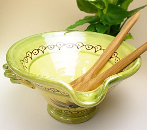 provence hand made pottery tian olive provence